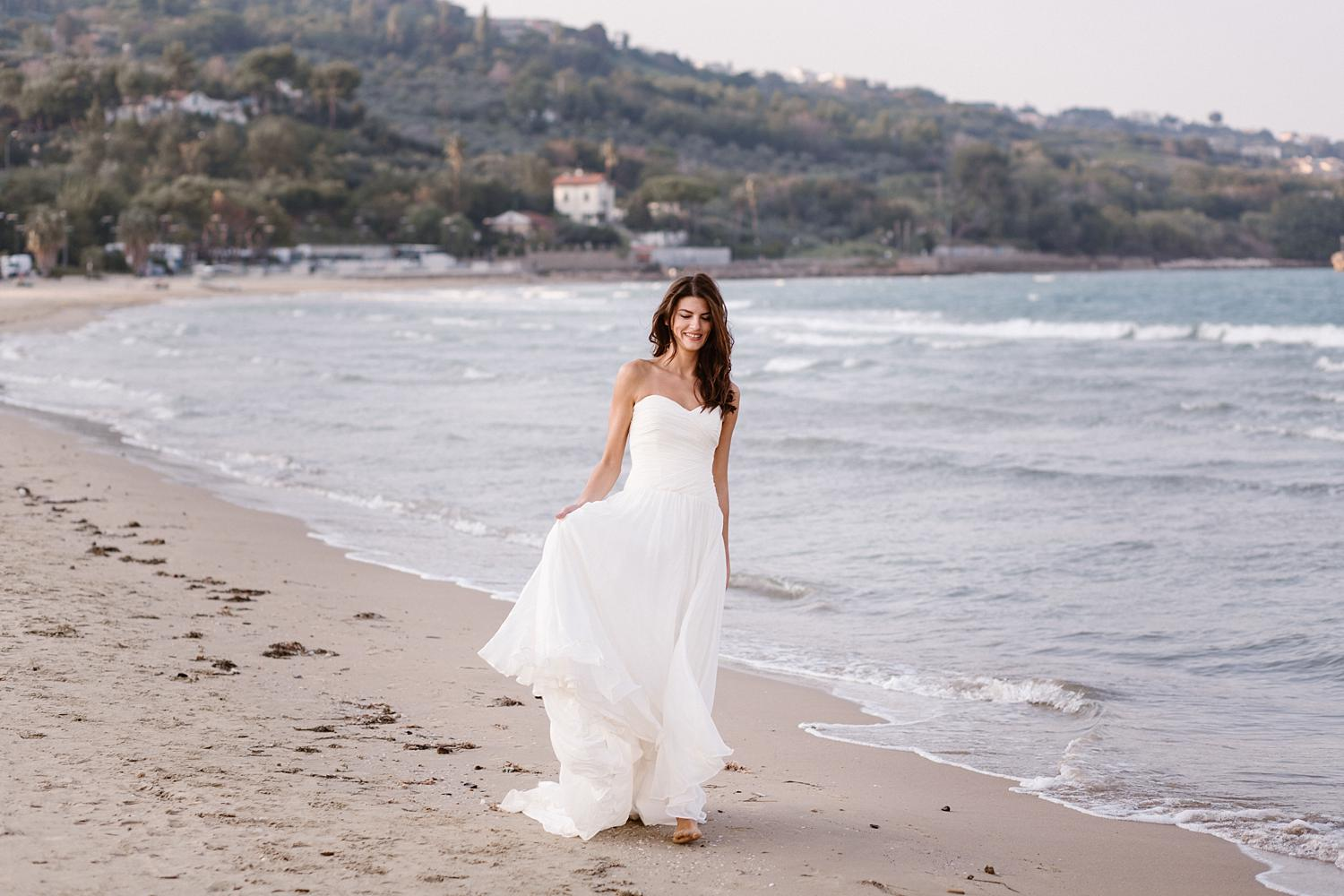 Beach Wedding Inspiration Italy Photographer Olga