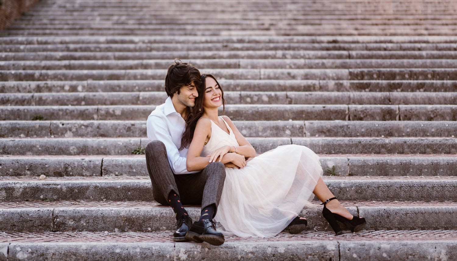 gs wedding photographer rome 0207 - Giulia & Simone - Elegant Couple Shooting in Rome