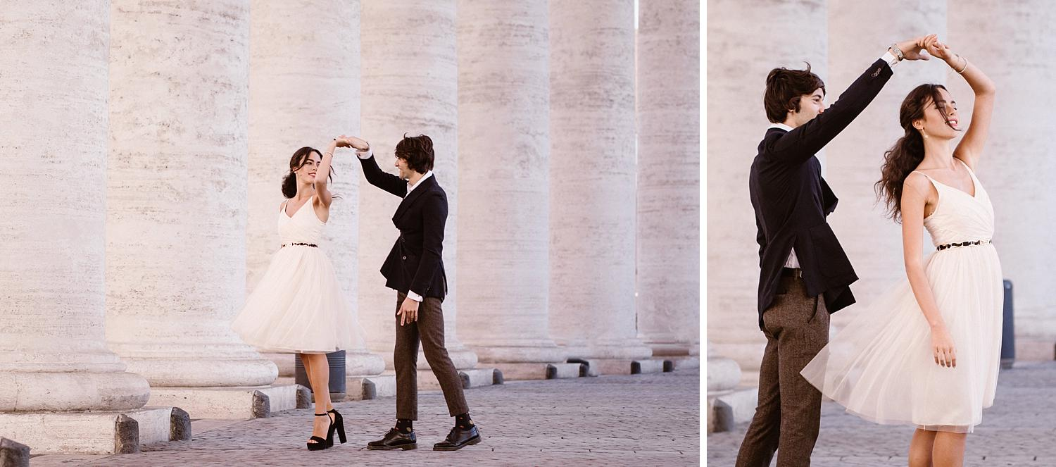 gs weddingphotographer rome 04 - Giulia & Simone - Elegant Couple Shooting in Rome