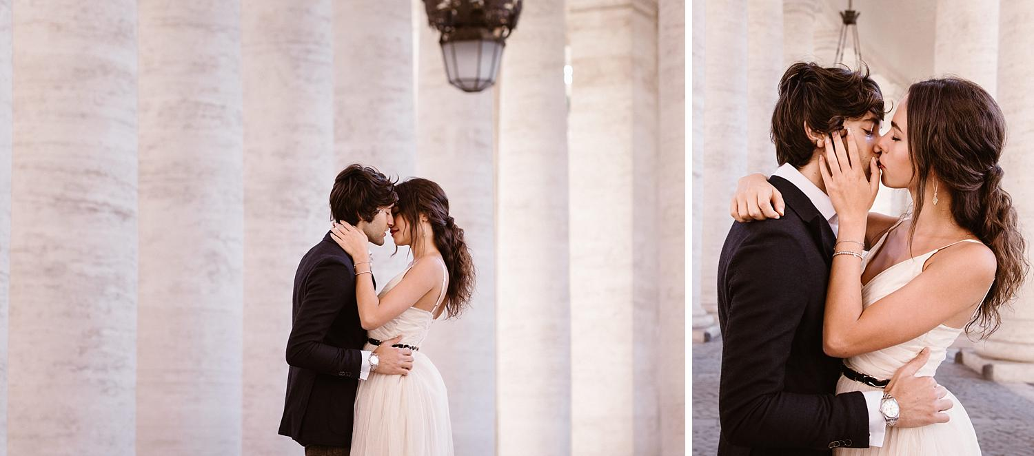 gs weddingphotographer rome 07 - Giulia & Simone - Elegant Couple Shooting in Rome