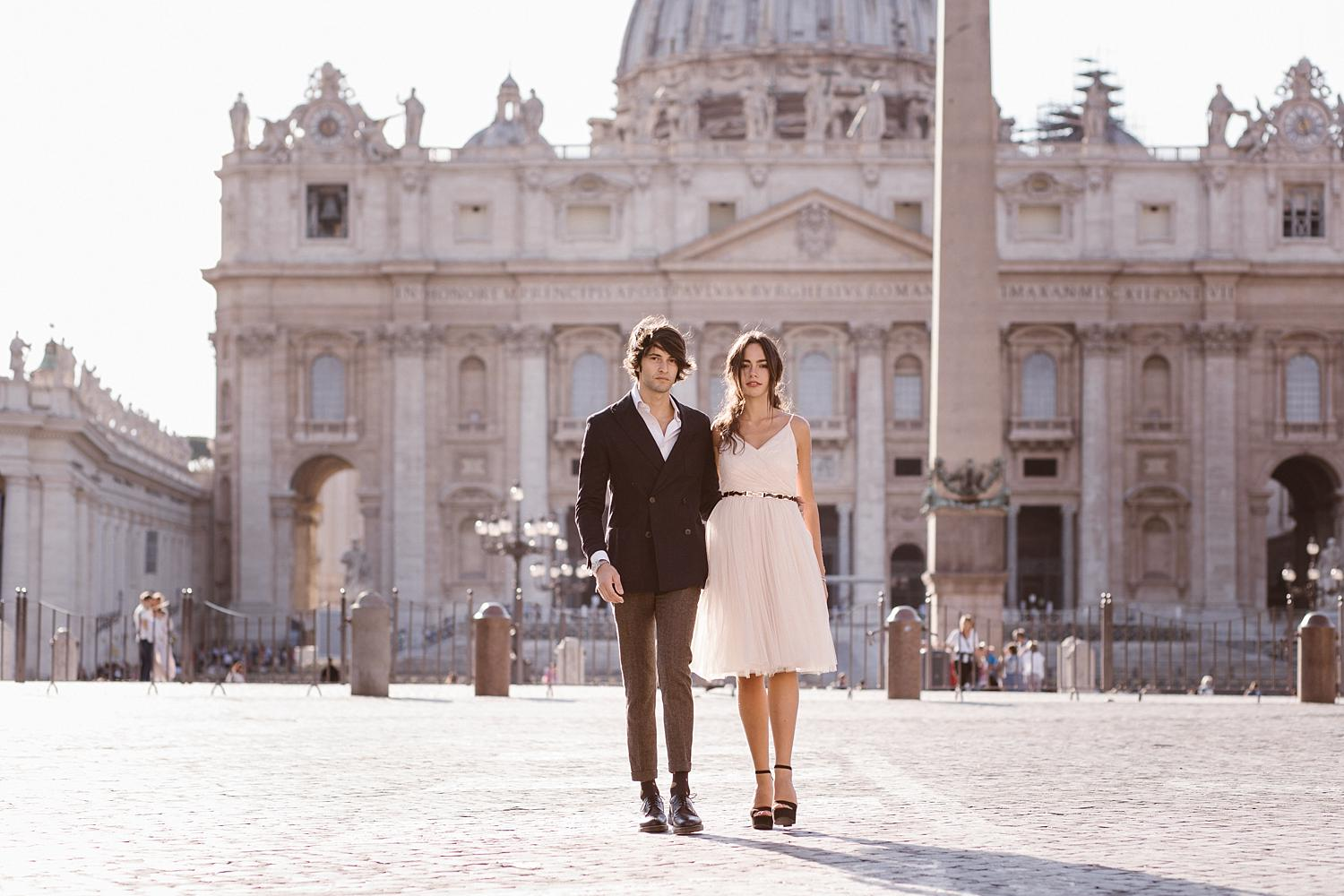 gs weddingphotographer rome 10 - Giulia & Simone - Elegant Couple Shooting in Rome