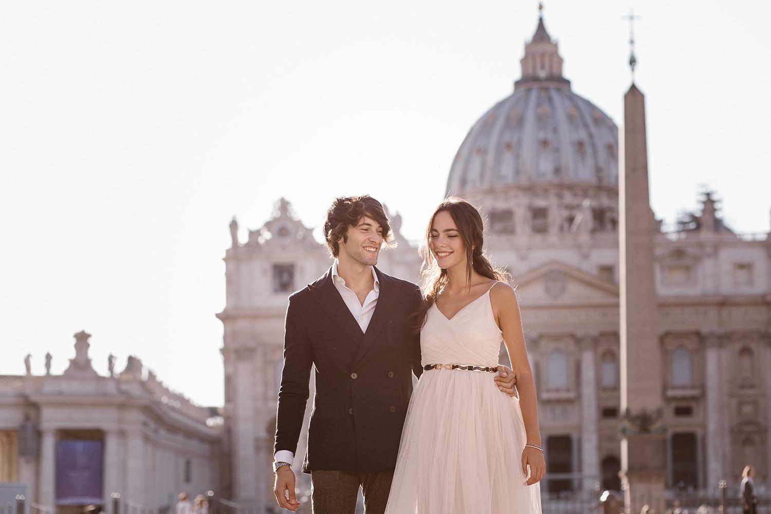 gs weddingphotographer rome 11 - Giulia & Simone - Elegant Couple Shooting in Rome