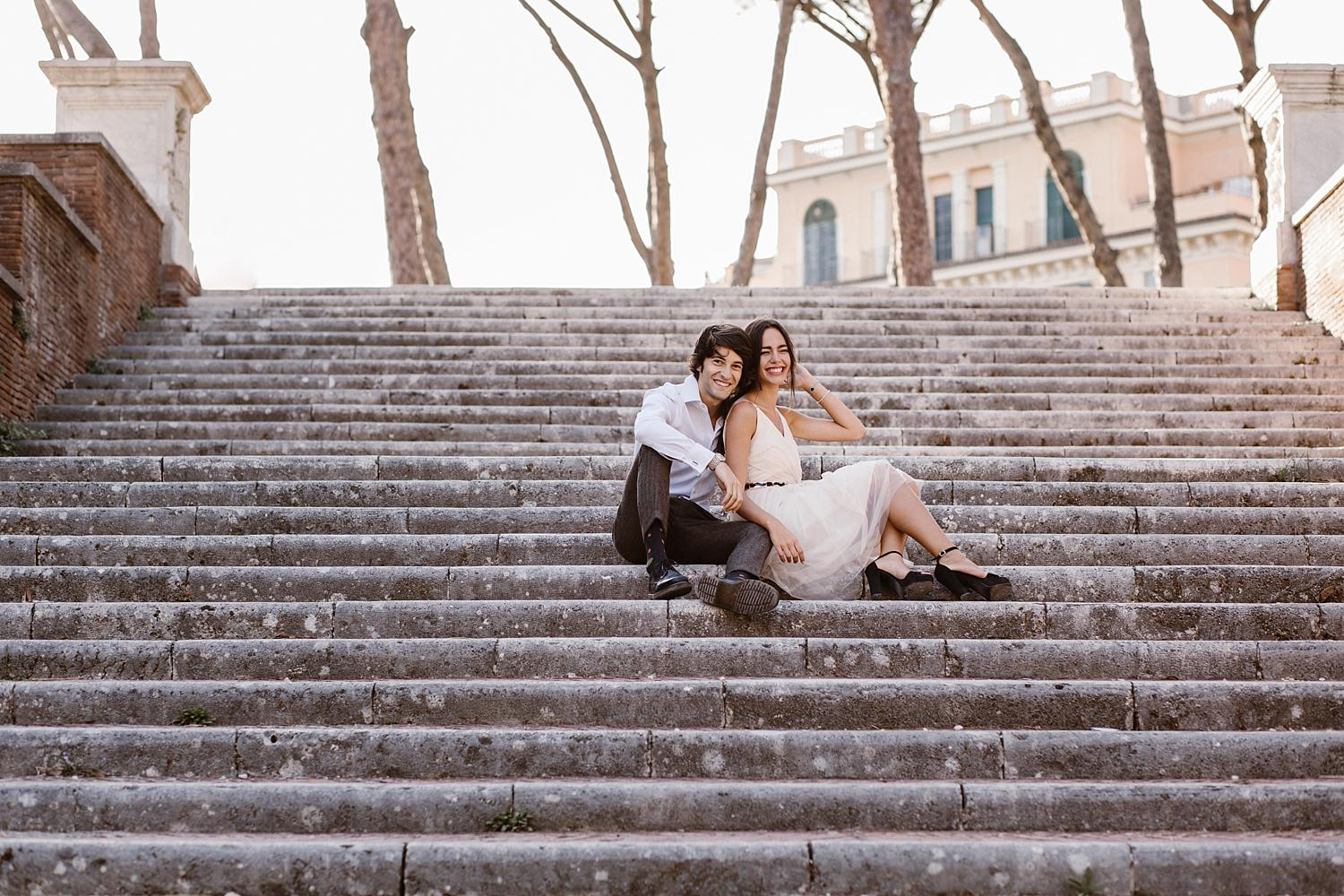 gs weddingphotographer rome 26 - Giulia & Simone - Elegant Couple Shooting in Rome