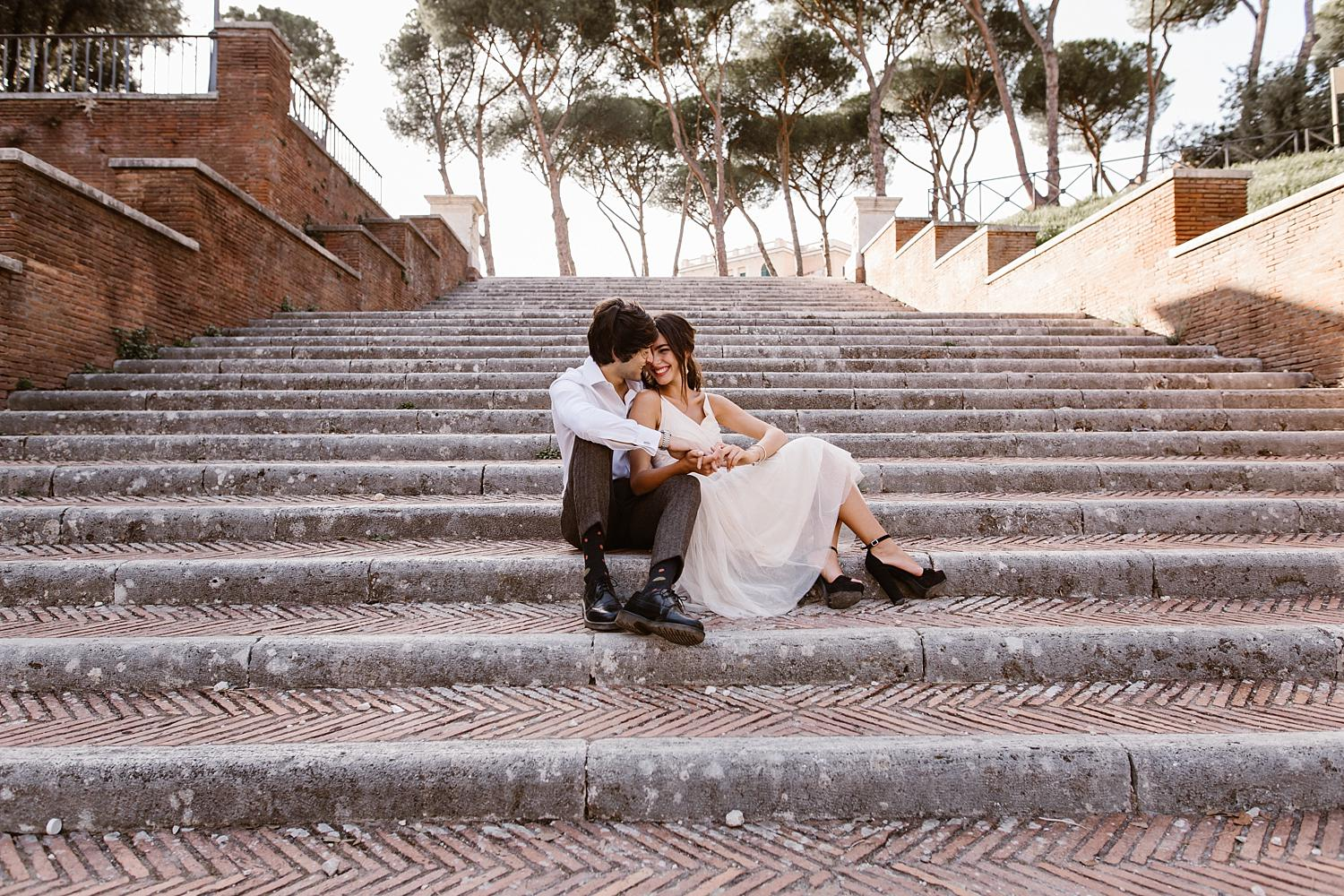 gs weddingphotographer rome 29 - Giulia & Simone - Elegant Couple Shooting in Rome