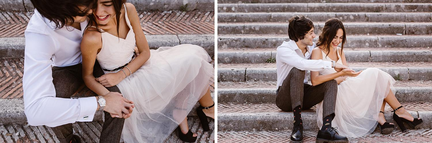 gs weddingphotographer rome 30 - Giulia & Simone - Elegant Couple Shooting in Rome