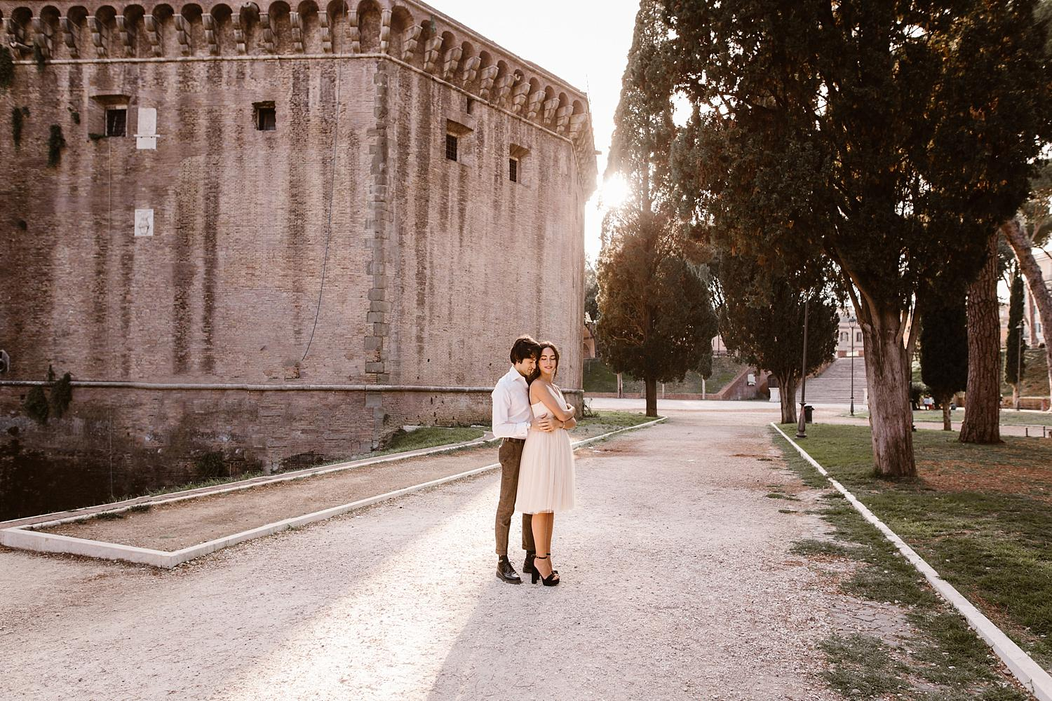 gs weddingphotographer rome 37 - Giulia & Simone - Elegant Couple Shooting in Rome