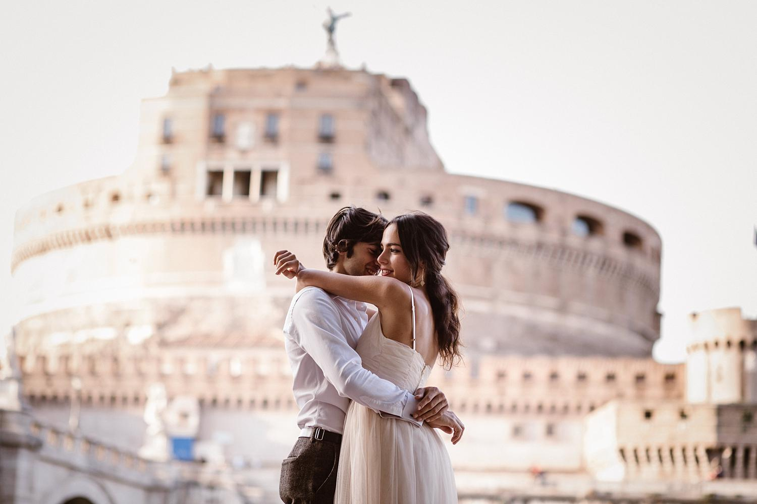 gs weddingphotographer rome 48 - Giulia & Simone - Elegant Couple Shooting in Rome