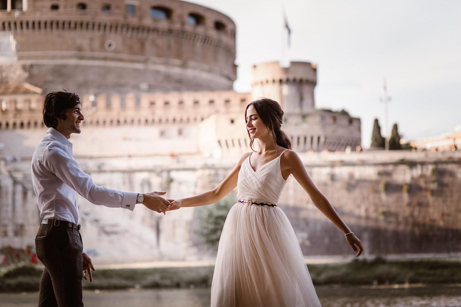 gs weddingphotographer rome 50 - Giulia & Simone - Elegant Couple Shooting in Rome