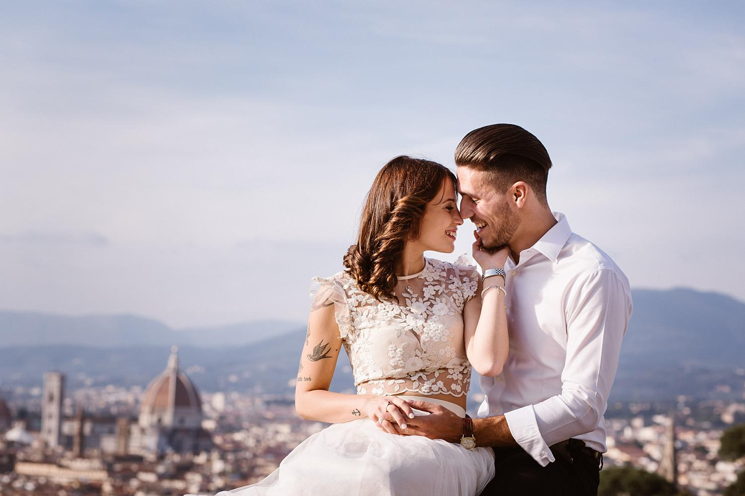 weddingphotographer florence 35 - Maddalena & Arturo - A Chic Anniversary Session in Florence